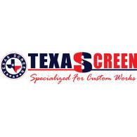 Texasscreen logo vector logo