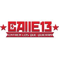 Calle 13 logo vector logo