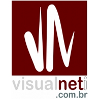 Visualneti logo vector logo