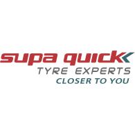 Supa Quick logo vector logo