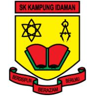 SK Kampung Idaman logo vector logo