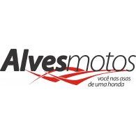 Alves Motos logo vector logo