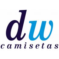 DW Camisetas logo vector logo