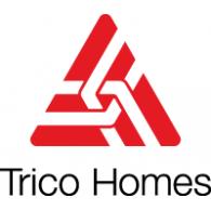 Trico Homes logo vector logo