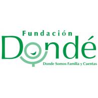Fundacion Donde logo vector logo