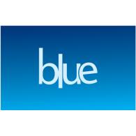 Blue logo vector logo