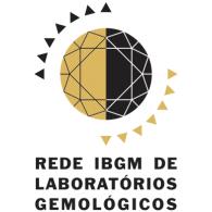 Rede IBGM de Laboratórios Gemológicos logo vector logo