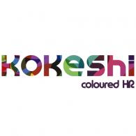Kokeshi logo vector logo