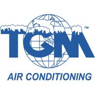 TGM Air Conditioning logo vector logo