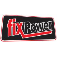 fixpower logo vector logo