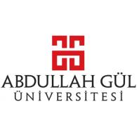 Abdullah Gül Üniversitesi logo vector logo