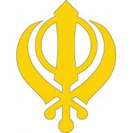 Sikh Symbol logo vector logo