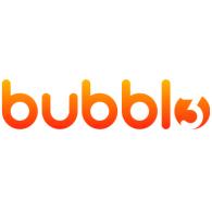 Bubbl3 logo vector logo