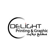 Delight Printing logo vector logo